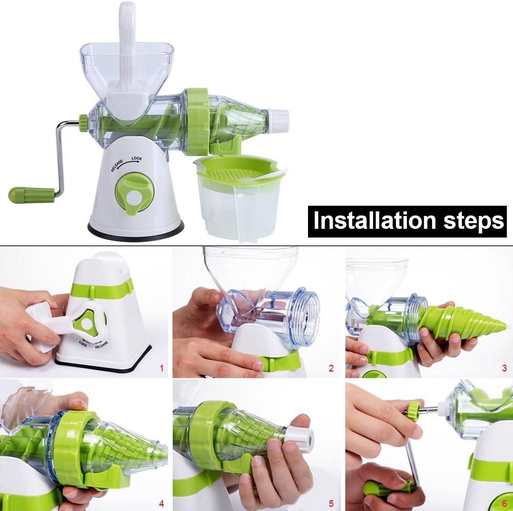 Juicer Machine,Multi-Function Manual Orange Fruits/Vegetable ...