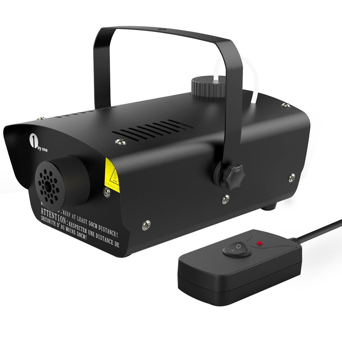 byone Mini máquina de humo de W con mando a distancia tanque