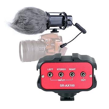 Movo réflex digital Audio Bundle con vídeo estéreo X/Y micrófono y ...