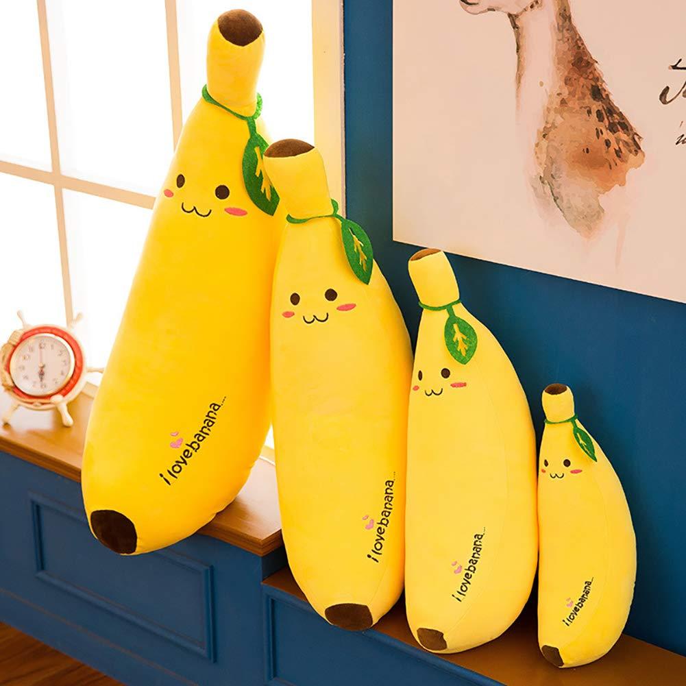 YGQersh Cartoon Banana Peluche Poup/ée Enfants Jouet Canap/é Oreiller D/écor Cadeau danniversaire 50cm