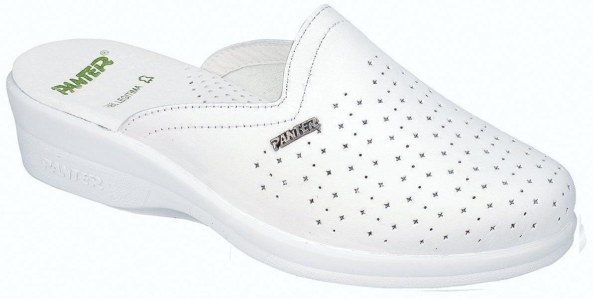 Panter - Calzado seguridad linea comoda profesional modelo zueco 466 señ ora