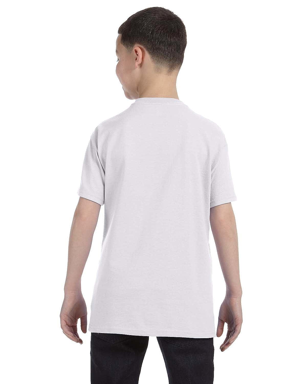 Hanes Authentic Tagless Boys Cotton T-Shirt