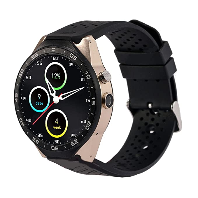 Amazon.com: TOOGOO(R) KW88 Smart Watch Android 5.1 Quad-Core ...