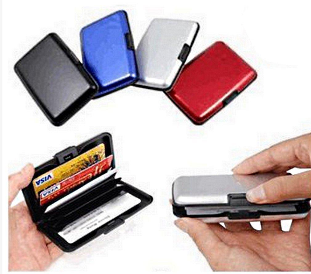 Rangement Anti piratage et Protection des bonn/ées bancaires Porte Carte de cr/édit en Aluminium Compact