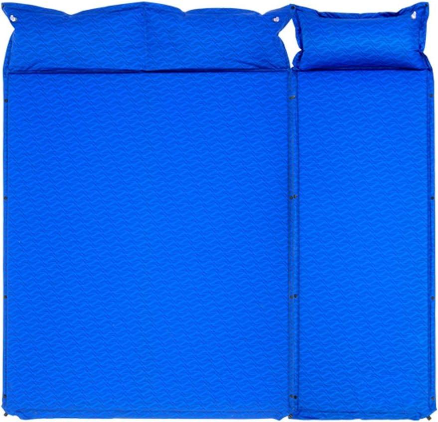 Almohadilla para Dormir Colchoneta For Acampar For Dormir Mejor Colchoneta For Dormir Mochilas Autoinflables Inflar Colchoneta For Acampar Azul: Amazon.es: Deportes y aire libre