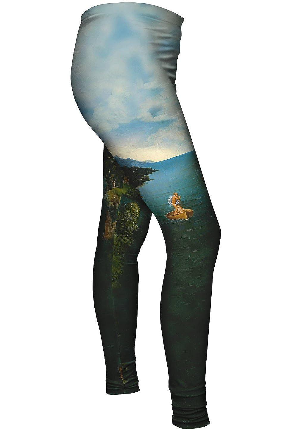 Charon Crossing t -New Ladies Womens Leggings 2061 Yizzam Joachim Patinir