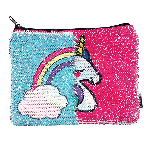 Style.Lab Unicorn/Rainbow Magic Sequin Reveal Pouch