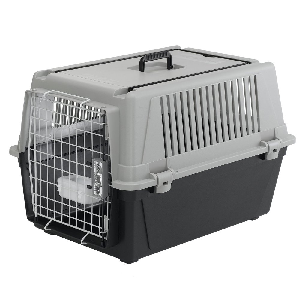 Ferplast Atlas 40 Professional Dog Carrier, Grey