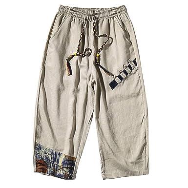 Sayla Pantalones Hombre Verano Moda Casual Cortos Cargo Bermuda ...