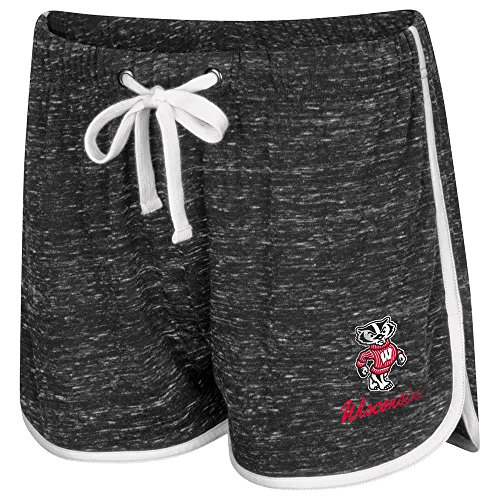 (Colosseum Womens Wisconsin Badgers Gym Shorts -)