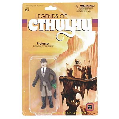 Warpo Toys Legends of Cthulhu Professor Retro Action Figure: Toys & Games