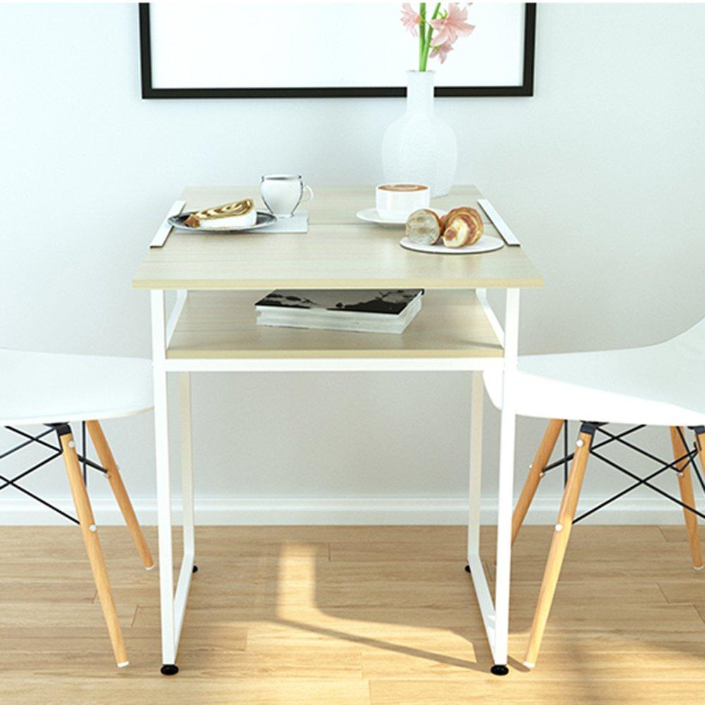ZZHF 折りたたみテーブル/折りたたみ正方形テーブル/屋外ダイニングテーブル/ラップトップテーブル/ホームストレージテーブル デスク ( 色 : B ) B07BFSX2BY B B