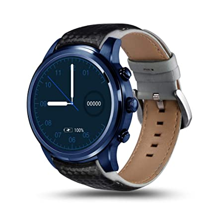 LEMFO Reloj inteligente LEM5 Pro Android 5.1 Bluetooth IP55 ...