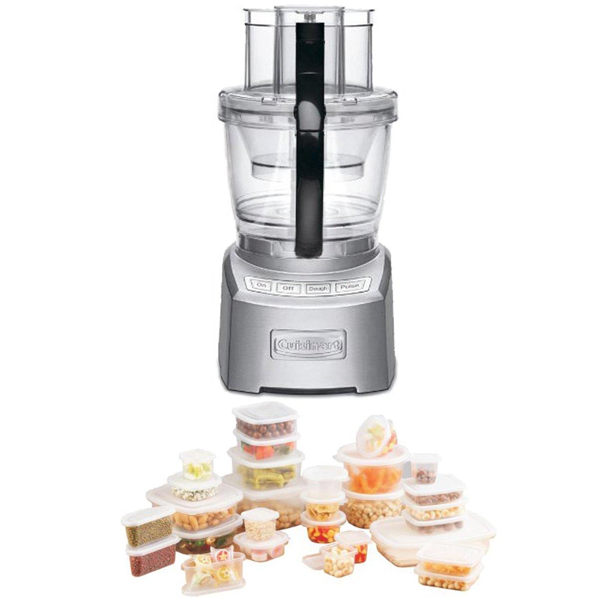 Cuisinart FP-14DC Elite Collection 14-cup Die Cast Food Processor And Storage Case Bundle