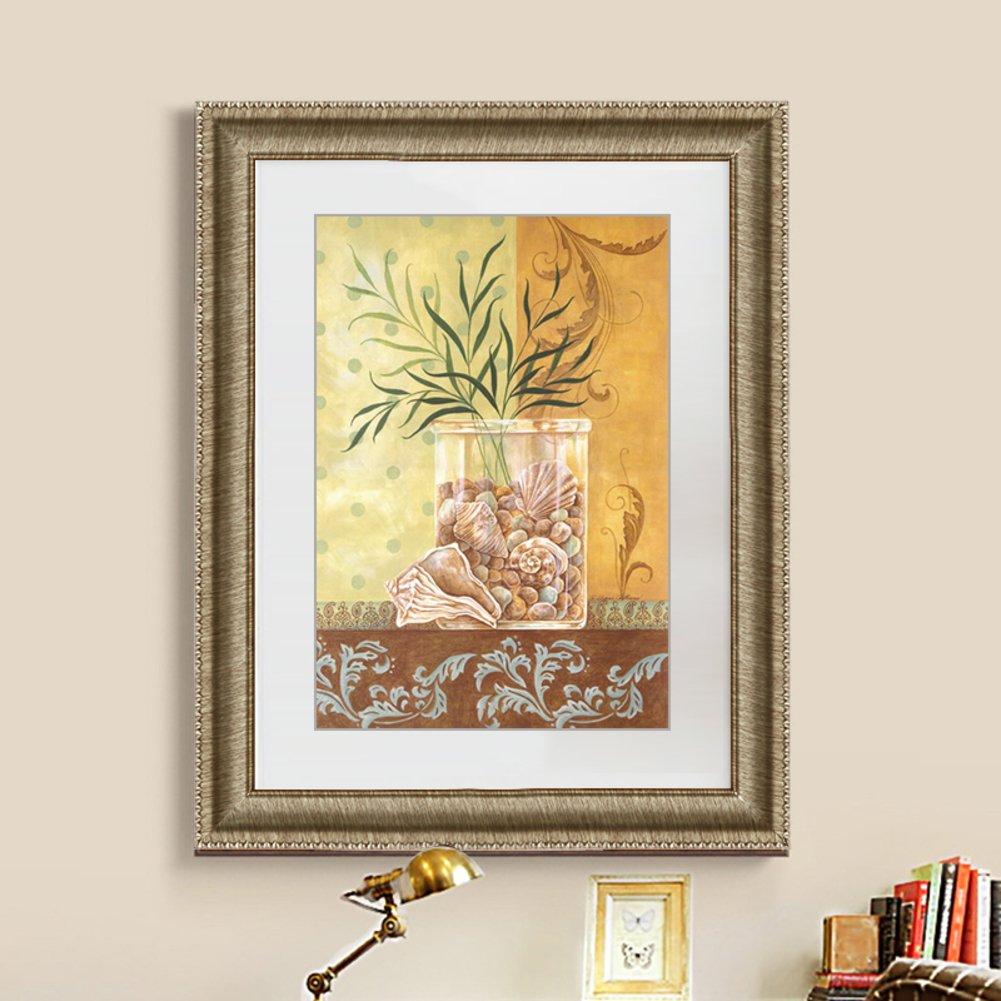 Bbdsj Marco de Fotos de Estilo Europeo,Portaretrato Minimalista Moderno,Péndulo Doble Rompecabezas Cuadro de Poster Varios tamaños-F 20.8x29.5cm(8x12inch): ...
