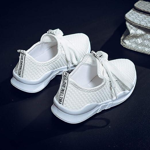 YanHoo Zapatillas con Letras para niños Zapatillas Transpirables Zapatillas de Malla Zapatillas para niños Zapatillas de Deporte para niños pequeños ...