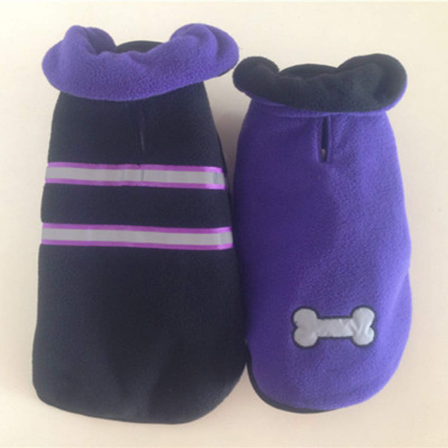 Purple XXL Purple XXL Clothes for Pets Dog Clothes Poodle, Beagle, Teddy, Clothes Warm Cotton Cloak