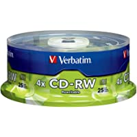 Verbatim CD-RW 700MB 2X-4X Surface, 25-Disc Spindle 95169