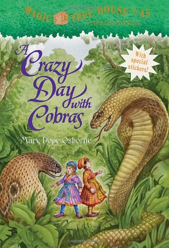 """A Crazy Day With Cobras - Book #17 of the Magic Tree House """"Merlin Missions"""""""