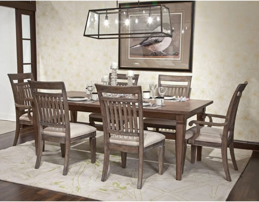 Brownstone Village 7 Piece Dining Set Chairs Amazon Com