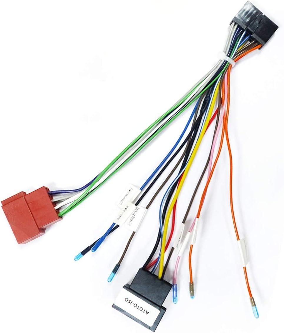 Atoto Iso Wiring Harness B Version Elektronik