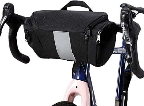 Lixada Bolsa de Manillar Bolsa Alforja Delantera para MTB Bicicleta ...