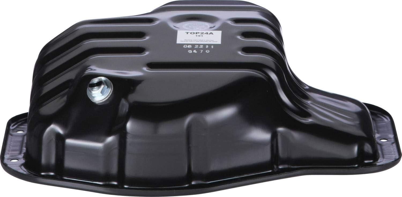 Engine Oil Pan W//Drain Plug for L4 2.4L 05-10 TC 02-06 Camry 01 02 03 04 05 06 07 08 09 10 11 12 13 04-05 Rav4 02-06 Solara 01-06 Highlander 09-13 Corolla 09-13 Matrix
