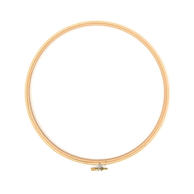 Darice Wood Hoop 10in, Notions Marketing 0306584