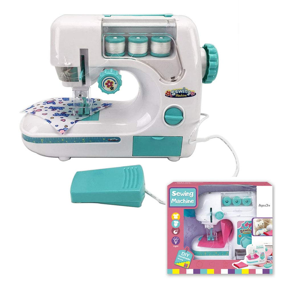 ZZXX Kids Sewing Machine DIY Sewing Craft Kit Household Electric Sewing Toys Educational Interesting Toy for Kids Girls Children