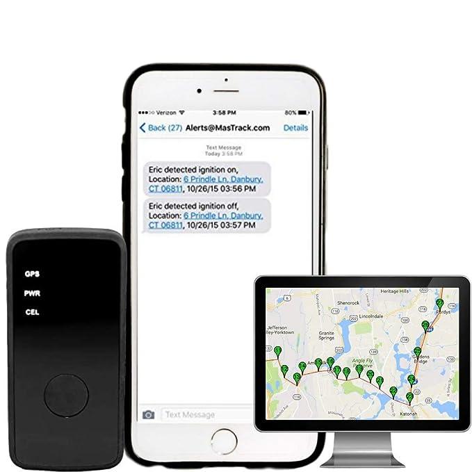 Amazon com: MasTrack - Mini Portable Real Time GPS Tracker