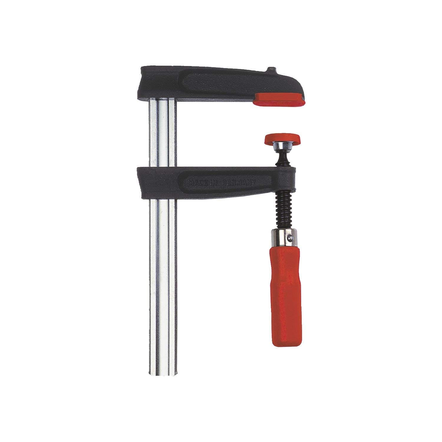 Bessey TPN16BE Screw Clamp Tpn-Be 6.3In/3.15In of Cast-IRON, Black/Red/Silver by Bessey (Image #8)