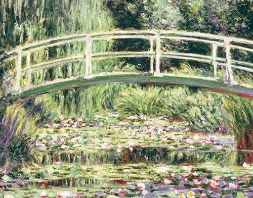 Lily Keepsake - Monet Waterlily Garden Keepsake Boxed Notecards