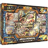 Pokemon Sun and Moon Mega Lucario Ex and Mega Manectric Ex Mega Powers Collection Trading Cards