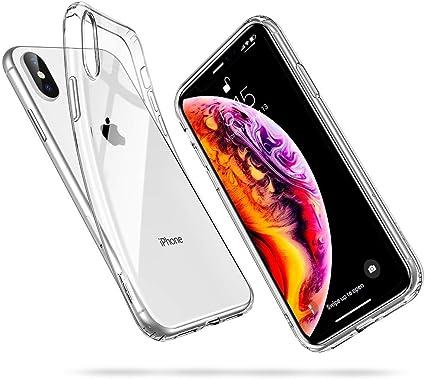 ESR Cover Compatibile con iPhone XS Max 2018, Custodia Gel Trasparente Morbida Silicone Sottile TPU, Ultra Leggera e Chiaro, Compatibile con iPhone XS ...
