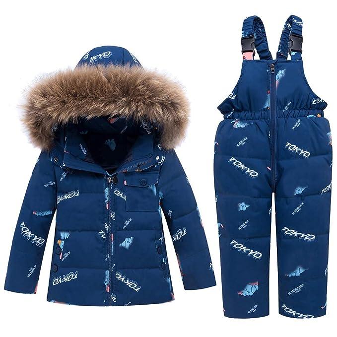Amazon.com: WESIDOM - Conjunto de traje de nieve para niños ...