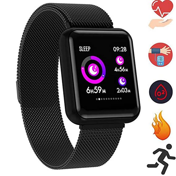 Amazon.com: Smart Watch Womens Bracelet Band Fitness Tracker ...