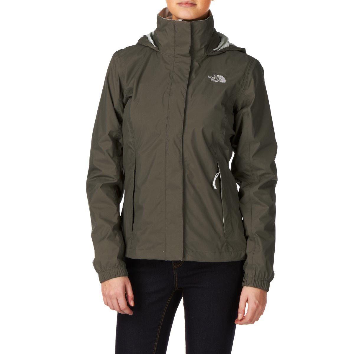 Weimaraner brown L The North Face Women Resolve Jacket