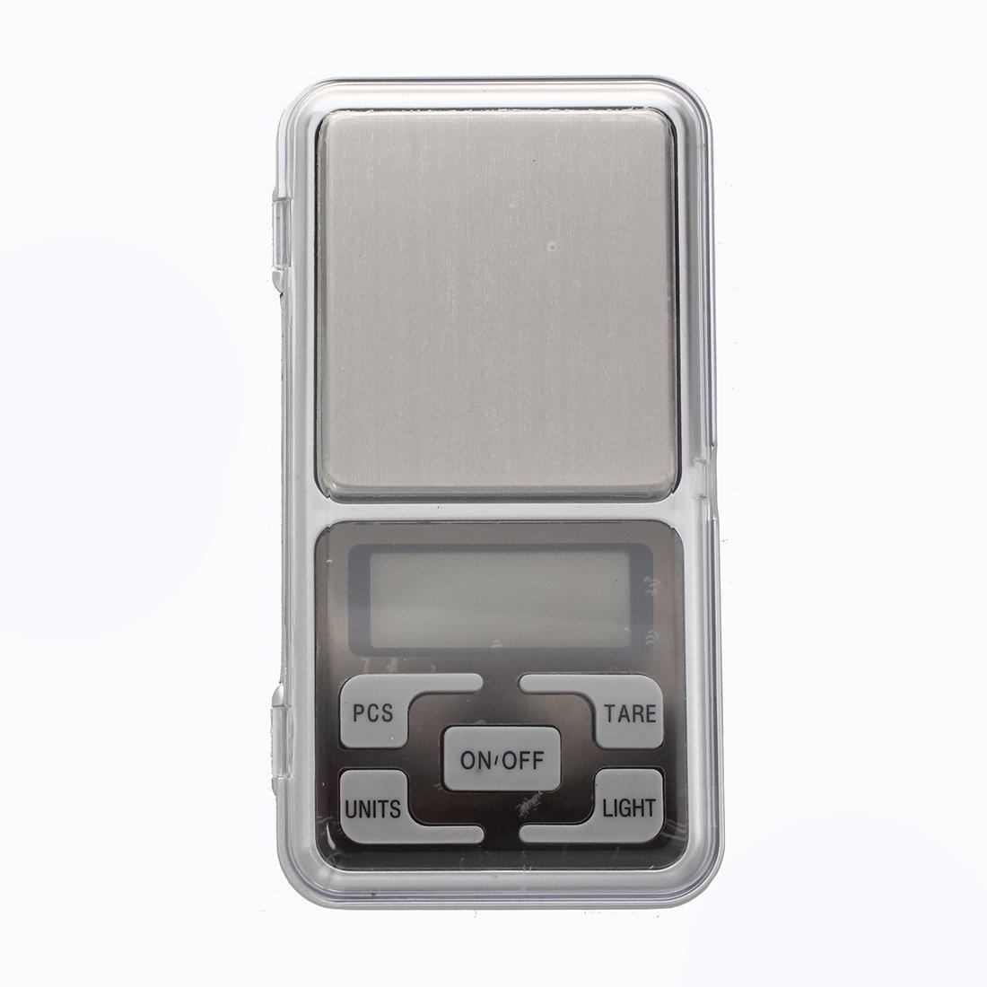 TOOGOO(R) balance echelle de poids numerique de poche 0,1g x 500g