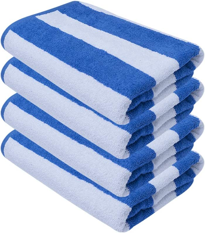 Avalon Beach Towels Blue - Made from Premium Ring-Spun Cotton