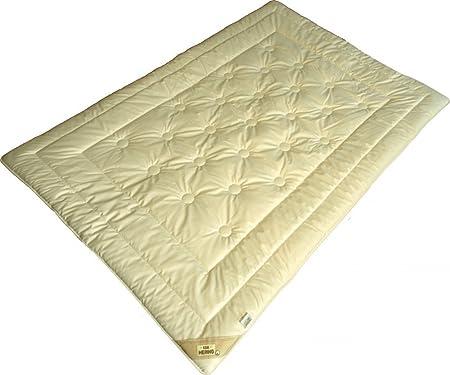 Merino Schurwolle leicht Sommer-Decke aus kbT Wolle Bezug aus kbA Baumwolle BIO