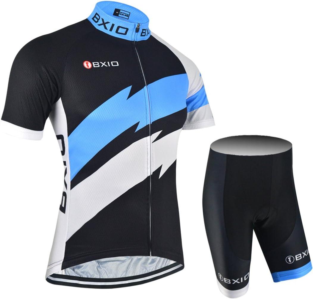 BXIO Ciclismo Jerseys para Hombre, Ropa de Ciclismo Profesional MTB Bike Jerseys Hot Ropa Ciclismo Hombre Bike Sportwear 146: Amazon.es: Deportes y aire libre