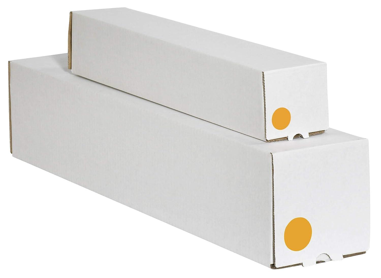 Fluorescent Orange 1 1//2 1 Roll of 500 Labels Tape Logic TLDL612H Inventory Circle Labels