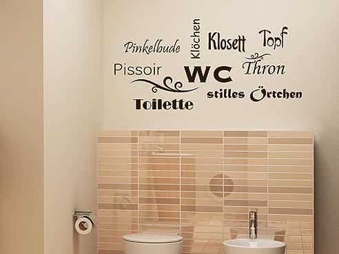 Graz Design 650160_30_080 Wandtattoo Deko Für Bad Sprüche Wand