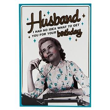 Hallmark Birthday Card For Husband You Ve Got Me Medium Amazon