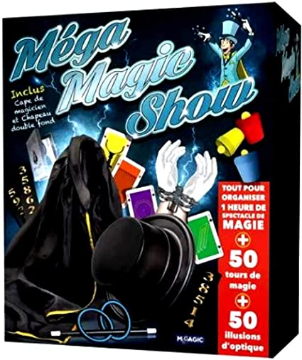Amazon.com: Megagic Mega Magic Show, MMS, Blue: Toys & Games