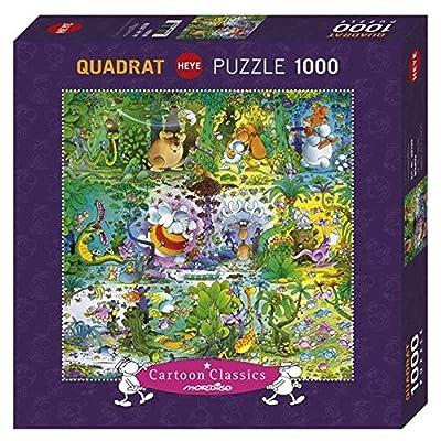 Heye Qpz1000 Mordillo Wildlife Puzzle A Quadrato 29799