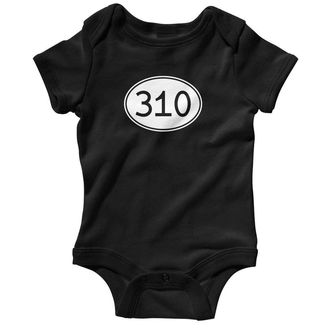 Smash Transit Baby Area Code 310 Los Angeles Creeper