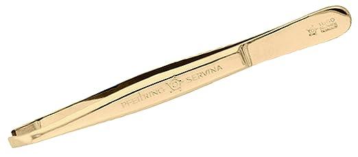 2 opinioni per Pfeilring pinzette per le sopracciglia, 9cm, placcate oro