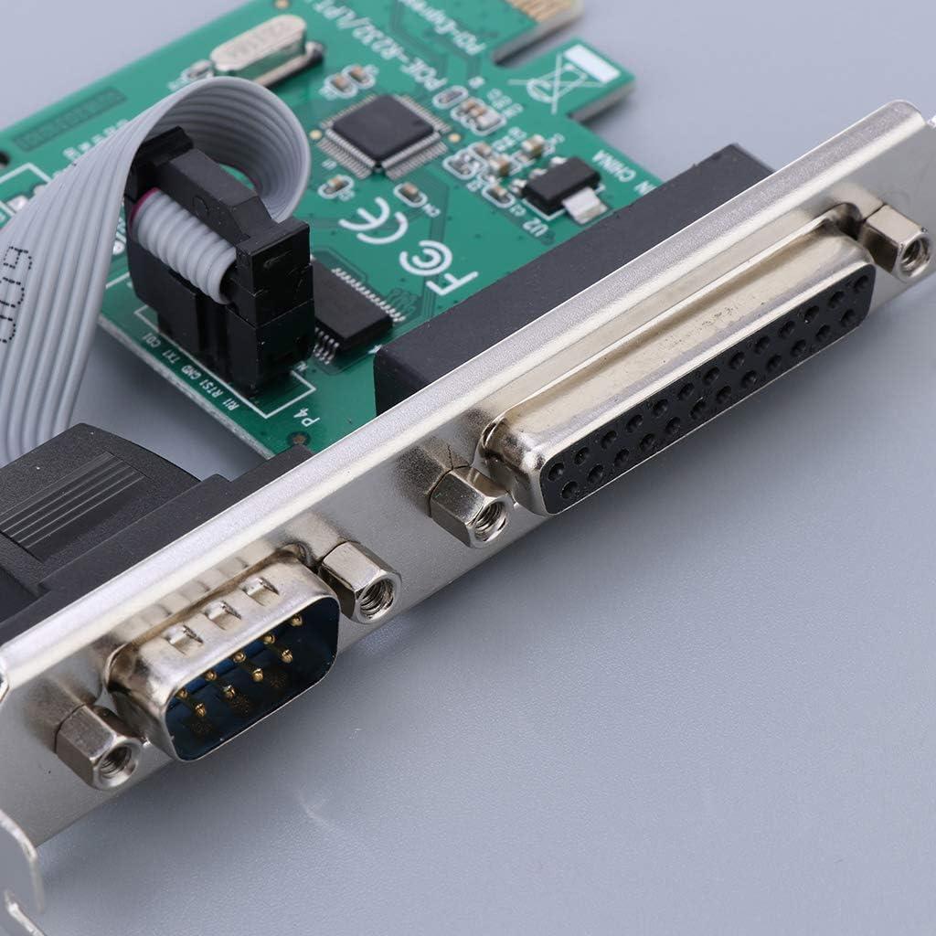 H HILABEE Tarjeta PCI-E De 2 Puertos A LPT Impresora 3D De Puerto Paralelo: Amazon.es: Electrónica