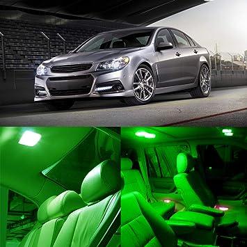 cciyu 13 x LED verde interior luz Bombillas paquete kit para 2012 - 2014 Volkswagen Passat B7: Amazon.es: Coche y moto